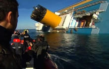 How will the Costa Concordia be salvaged?