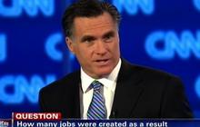 "Romney defends Bain, ""nothing wrong with profit"""