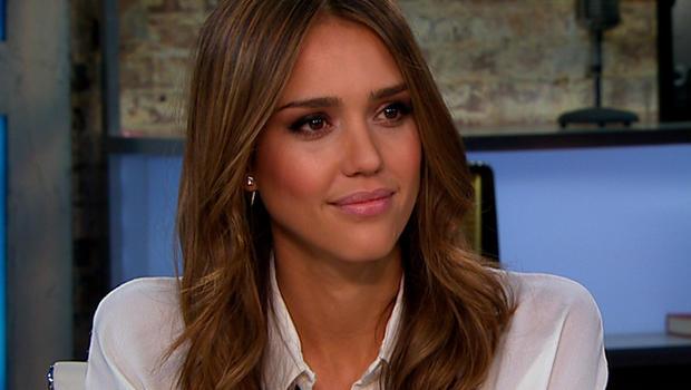 "Jessica Alba on ""CBS This Morning."""