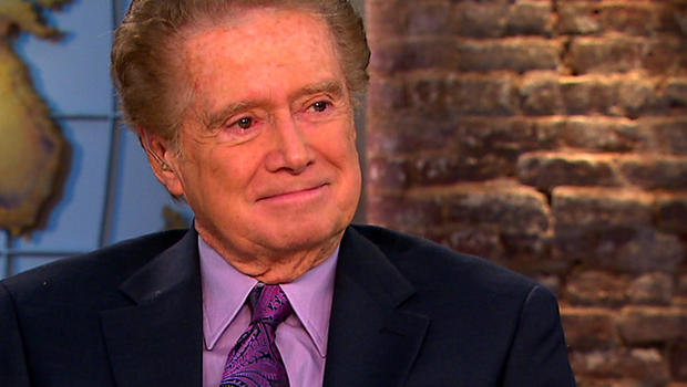 "Regis Philbin on ""CBS This Morning."""