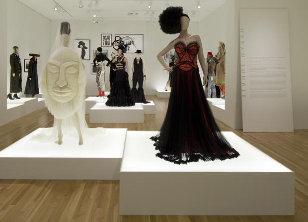 Jean Paul Gaultier on exhibit