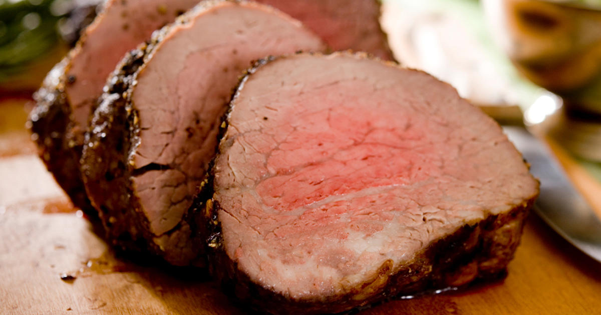 The Dish Doc Willoughby S Roast Beef Tenderloin Cbs News