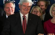 Gingrich wins South Carolina, applauds GOP rivals