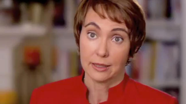Gabrielle Giffords announcing her plans to resign