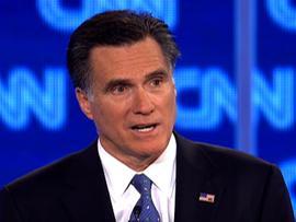 Romney: I'd fire Gingrich