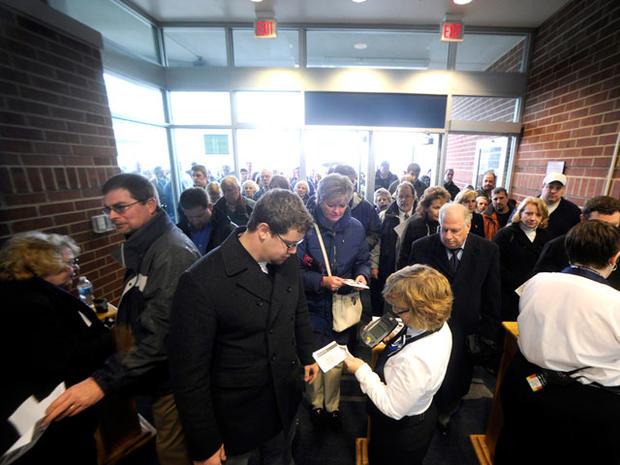Joe Paterno's Penn State memorial service
