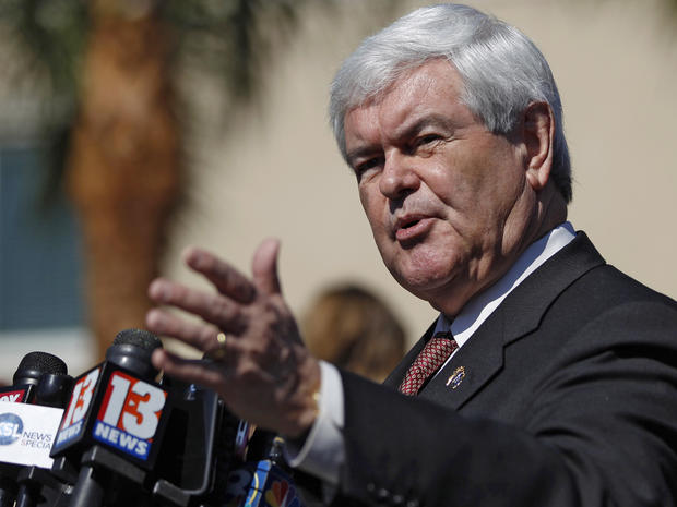 Gingrich: On big issues, Romney is a liberal