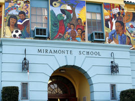Miramonte Elementary School is seen Jan. 31, 2012, in Los Angeles.