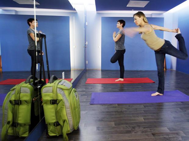 yoga room, sfo, airport,