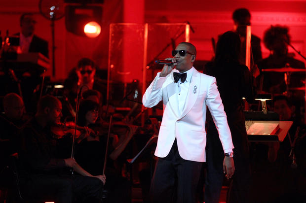 Jay-Z performs on stage at Carnegie Hall Feb. 6, 2012.