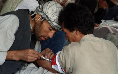 Afghanistan suffering from horrific drug addiction
