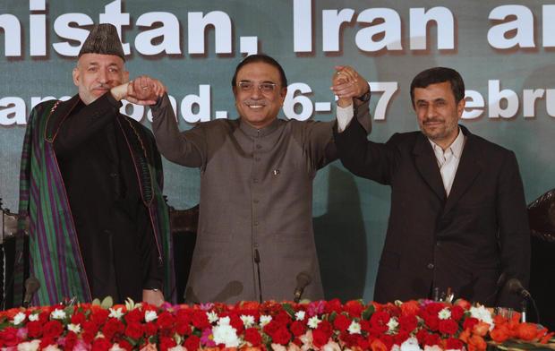 Zardari, Karzai, and Ahmadinejad