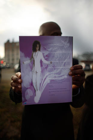 Whitney Houston memorial
