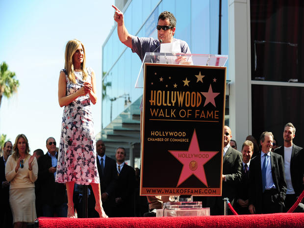 Jennifer Aniston's Hollywood Walk of Fame Star