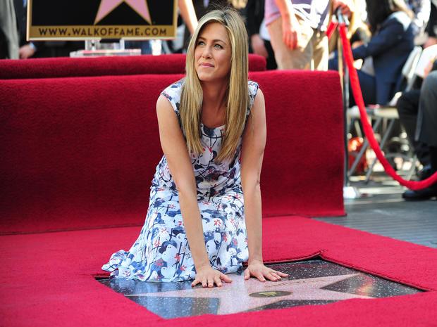 Jennifer Anistons Hollywood Walk Of Fame Star Photo 1