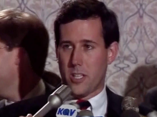 Santorum's rise to front-runner