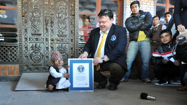 World's shortest man is 21.5-inch-tall Nepalese 72-year-old