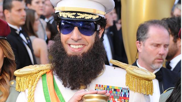 Sacha Baron Cohen's Oscars Dictator stunt