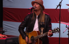 "Kid Rock performs ""Born Free"" for Mitt Romney"