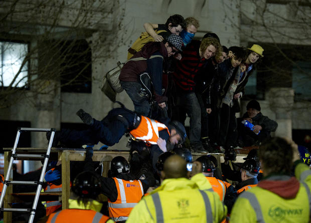 Occupy protests: Month 6