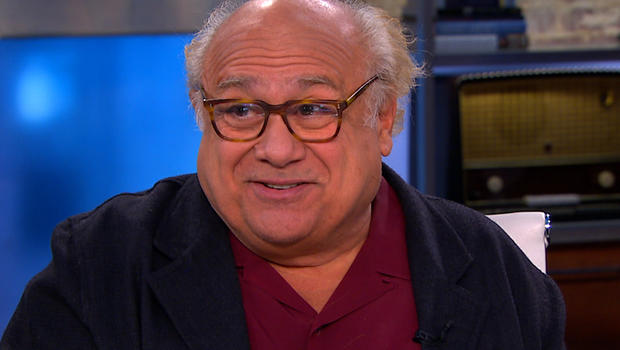 "Danny DeVito on ""CBS This Morning."""