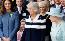 Queen, Camilla and Kate's royal outing