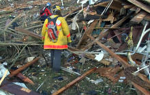 Ongoing search for tornado survivors