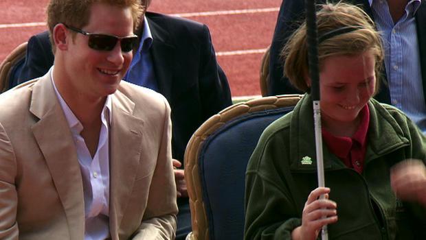 Prince Harry and Anna Albury