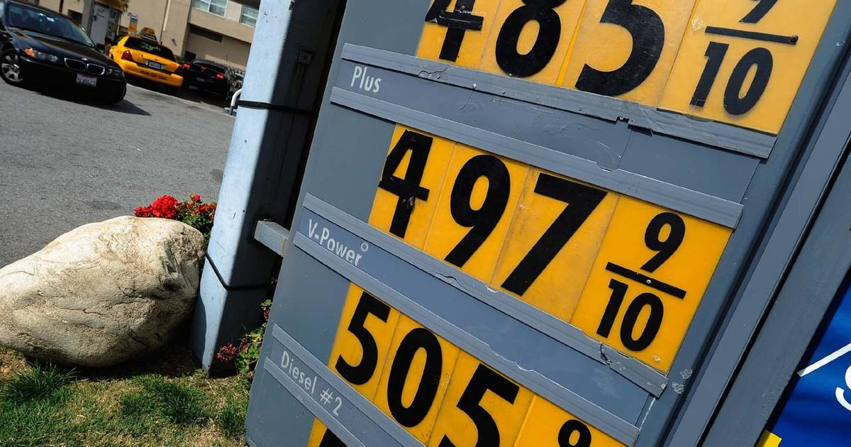 Who S To Blame For High Gas Prices Cbs News