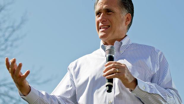 Mitt Romney on campaign trail