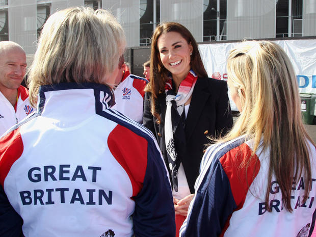 Kate and the Olympics