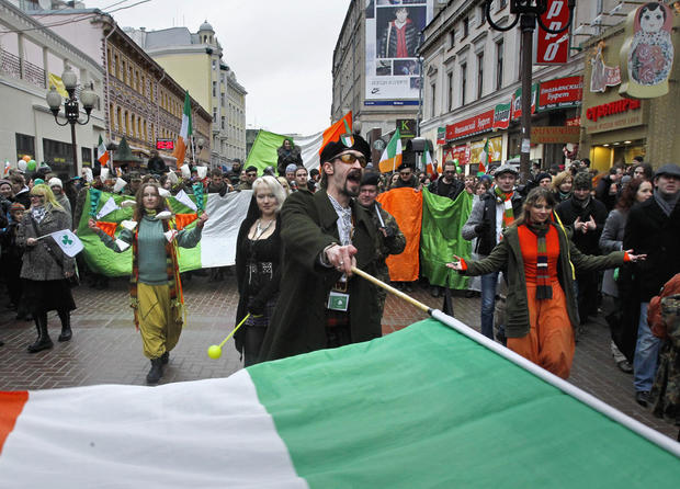 St. Patrick's Day around the world