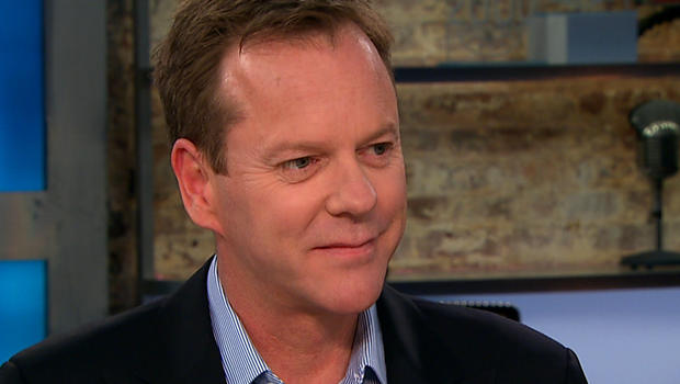 "Kiefer Sutherland on ""CBS This Morning."""