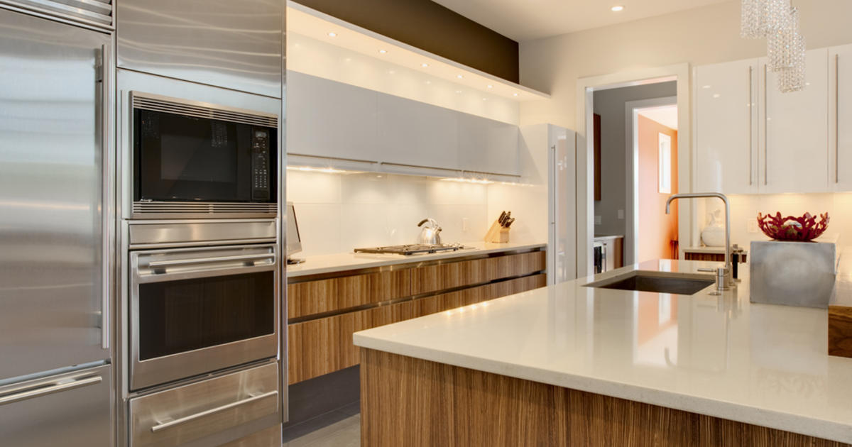The top kitchen and bath trends for 2012 cbs news for Top kitchen designs 2012