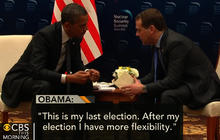 "Obama: ""After my election, I have more flexibility"""