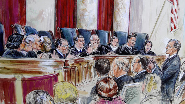 Supreme Court hears arguments over health care overhaul law