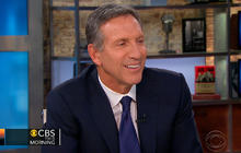 Starbucks CEO seeks to fix economy, create jobs