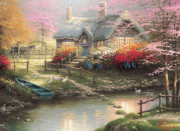 Thomas Kinkade Quot Painter Of Light Quot Photo 1 Pictures