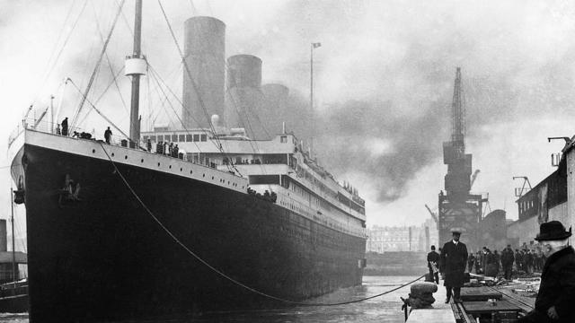 Titanic's voyage recreated 100 years later