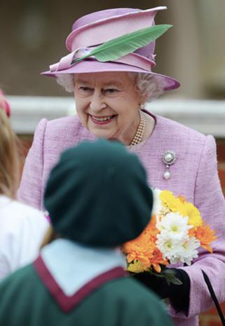 Royals celebrate Easter
