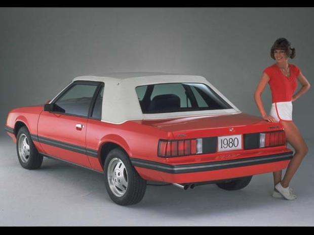 1980 Ford Mustang Through The Years Pictures Cbs News