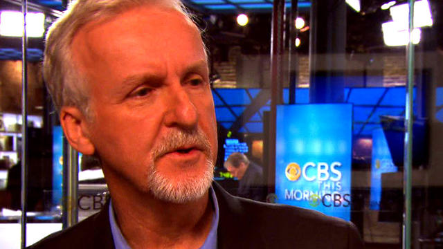 "James Cameron on ""CBS This Morning: Saturday."""