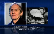 """The Band"" singer-drummer Levon Helm dead at 71"