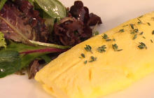The secret to restaurant-style omelets