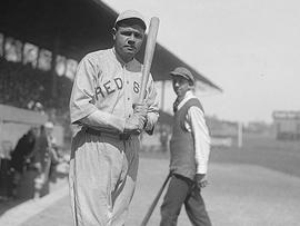 Red Sox pitcher-turned-slugger Babe Ruth