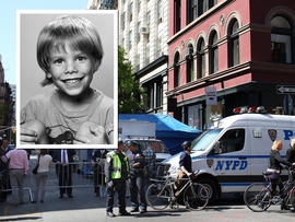 investigators searched for evidence of a six year-old boy who has been missing for 33 years April 19, 2012 in New York City
