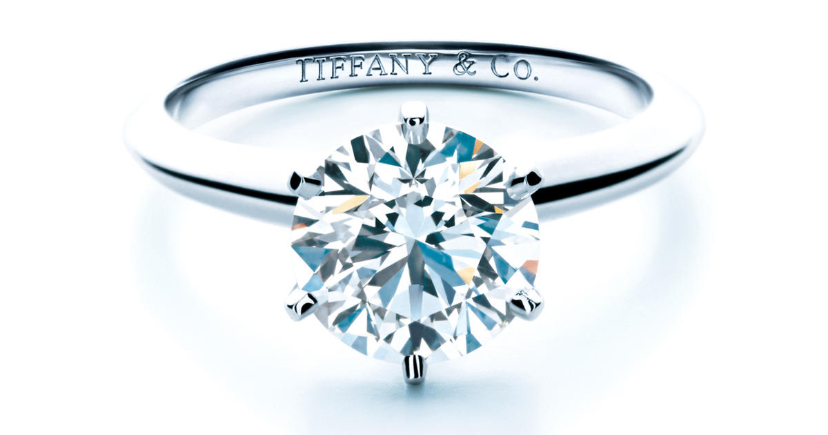 Tiffany Diamond Rings That Don T Come In The Blue Box Cbs News