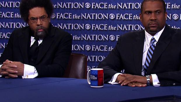 Cornel West and Tavis Smiley