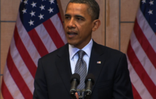 Obama announces new sanctions against Syria, Iran