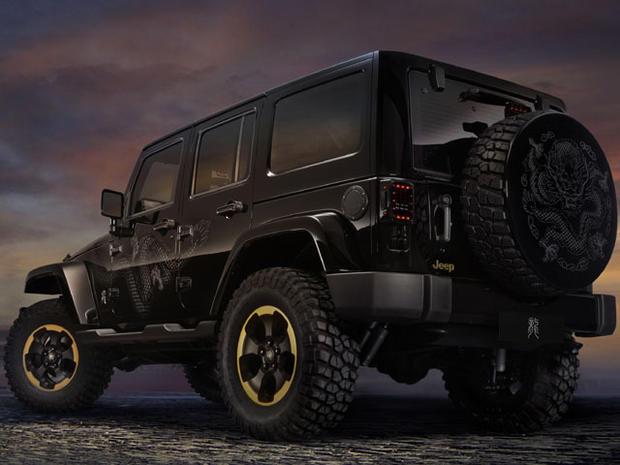 "Jeep Wrangler ""Dragon"" premieres in China"